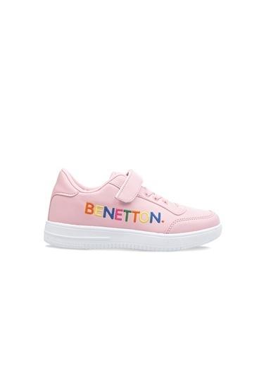 Benetton Bn30018  Çocuk Spor Ayakkabı Pembe